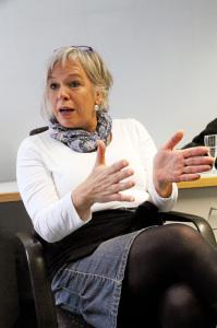 Louise Fiegel im Interview beim Schwäbischen Tagblatt 9.10.2014